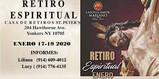 Retiro Espiritual Lazos de Amor Mariano Yonkers, NY. En  Enero/2020
