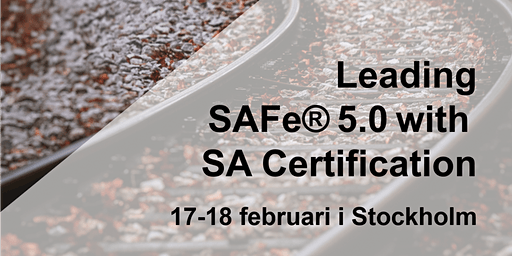 LeadingSAFe®5.0withSACertification