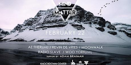 Mind-Matter tickets