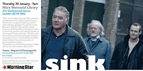 'Sink' tickets