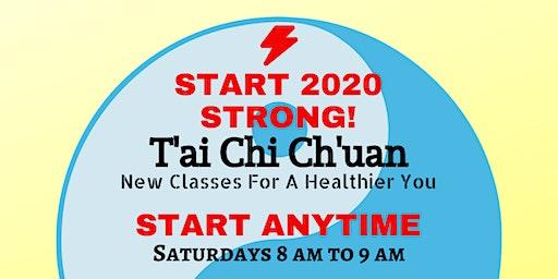 Beginning T'ai Chi Ch'uan Classes