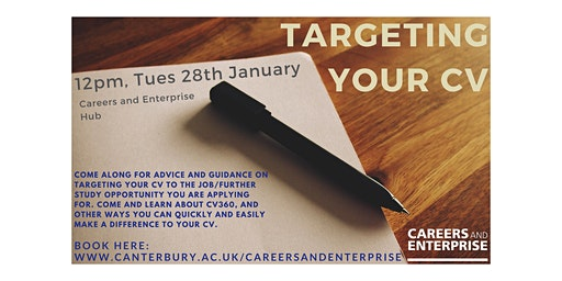Targeting your CV