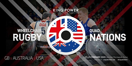 King Power Wheelchair Rugby Quad Nations 2020 - Super Supporter Ticket