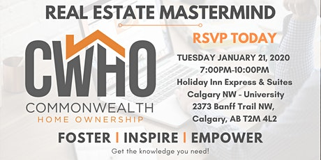 Real Estate Investing Mastermind - CWHO January 2020 tickets