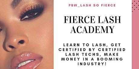 Fierce Lash Academy Volume tickets