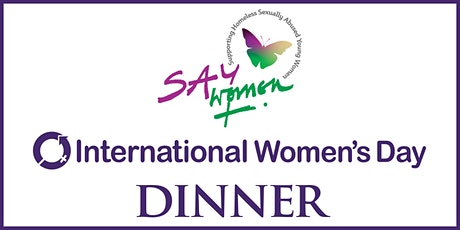 SAY Women: International Women's Day Dinner 2020 tickets