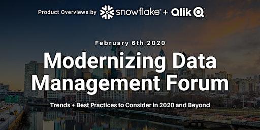 Modernizing Data Management Forum