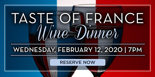 Atlantic Grill Taste of France Wine Dinner- New York, NY