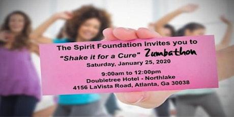 2020 Spirit Foundation Shake It For A Cure Zumbathon tickets
