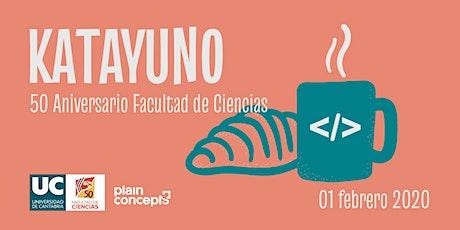 Katayuno 50 aniversario Facultad de Ciencias de la UC entradas