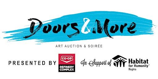 Doors & More Art Auction & Soirée in support of Habitat Regina