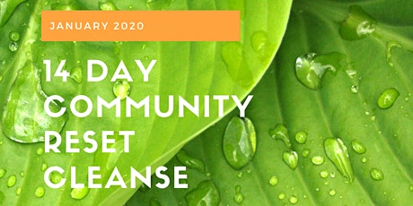 14 Day Community Reset Cleanse tickets