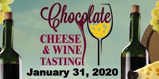 Chocolate, Cheese & Wine Tasting