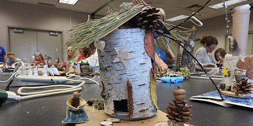 Birch Fairy House Making Workshop