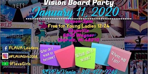 FLAVA Vision Board Party