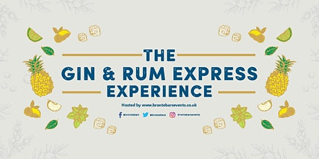 2020  Gin & Rum Express on the Keighley & Worth Valley Railway tickets