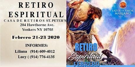 Retiro Espiritual Lazos de Amor Mariano Yonkers, NY. En Febrero 2020 boletos