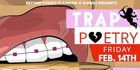 VALENTINE'S Day TRAP Poetry Sip n Write LOVE JONES EDITION tickets
