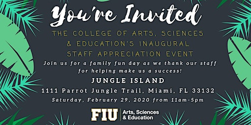 FIU CASE'S Inaugural Staff Appreciation Event