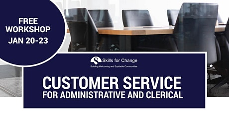 Customer Service workshop for Administrative and Clerical tickets