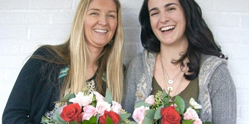Florals, Fashion and Fragrance: Galentine's in Huntington, Session 2