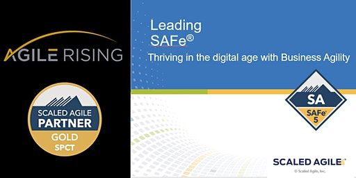 Leading SAFe 5.0 with SA Certification - Pittsburgh October 2020