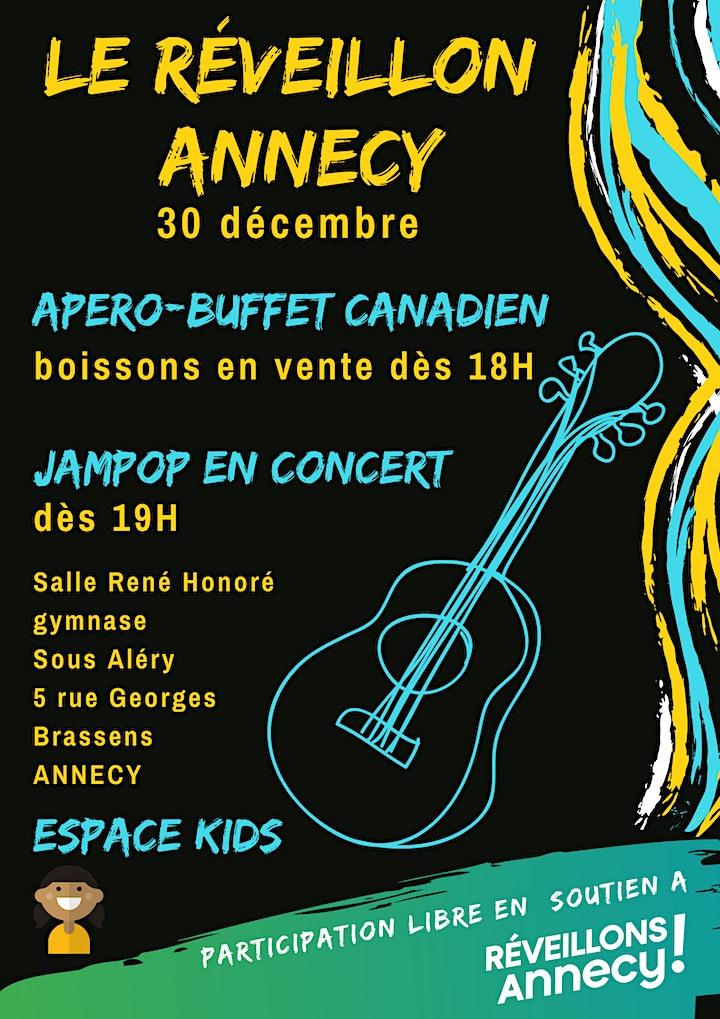Image pour Le Réveillon de Réveillons Annecy!