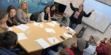 Workshop Aperfeiçoamento de Pronúncia 4 American Ways com Cris Vieira ingressos