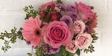 Bottle your Brew and Arrange Blooms for Your Valentine with Alice's Table tickets