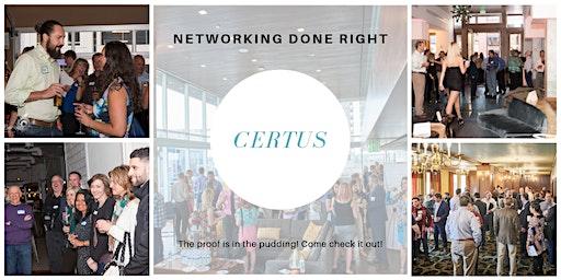 CERTUS Golden Networking Event