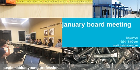 Habitat Young Professionals January Board Meeting tickets