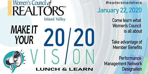 Women's Council 2020 Vision Lunch & Learn