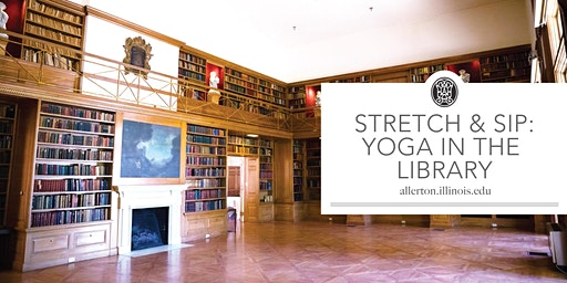 Stretch & Sip: Yoga in the Library
