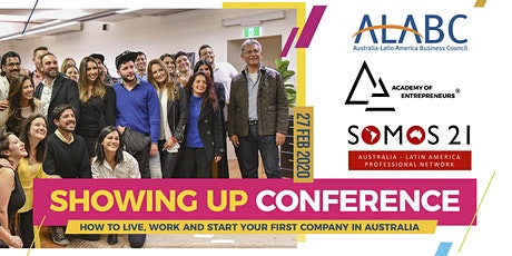 Showing Up Conference: A Latin American Entrepreneurs Networking Event tickets
