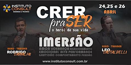CRER PRA SER - O HERÓI DA SUA VIDA! ingressos