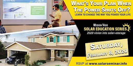 Mission Viejo Solar Education Series