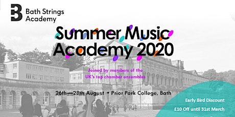 Bath Strings  Summer Academy 2020 tickets