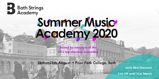 Bath Strings  Summer Academy 2020