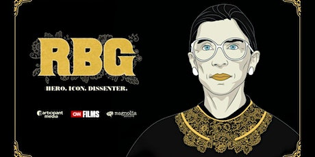 Created Equal Film Series: 'RBG: Hero. Icon. Dissenter.' tickets