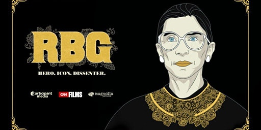 Created Equal Film Series: 'RBG: Hero. Icon. Dissenter.'