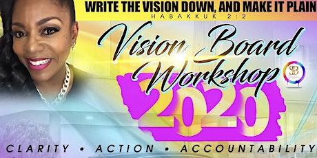 2020 Live Your Best Life Vision Board Workshop tickets