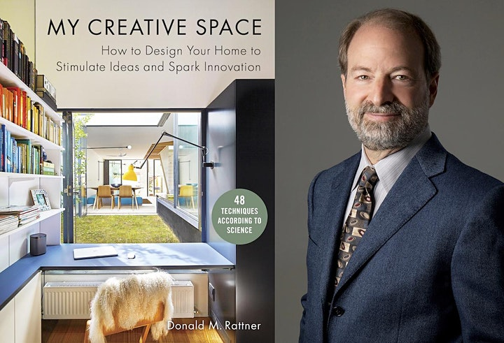 """Book Talk and Signing: """"My Creative Space"""" by Donald M. Rattner, Architect image"""