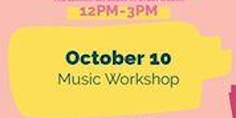 October 10th Free Kids Fun Zone Music Workshop at Anaheim Town Square tickets
