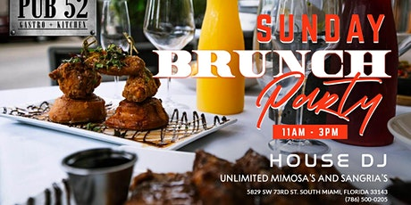 Sunday Brunch Party! Bottomless! Who you bringing? entradas