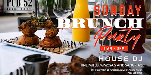 Sunday Brunch Party! Bottomless! Who you bringing?