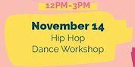 November 14 Free Kids Fun Zone Hip Hop Dance Workshop at Anaheim Town Square tickets