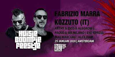Huisje, Boompje, Feestje w/ KOZZUTO & Fabrizio Mar
