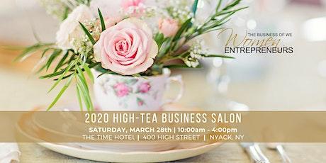 2020 HIGH-TEA BUSINESS SALON tickets