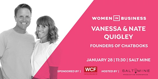 Women in Business with Vanessa & Nate Quigley | Chatbooks