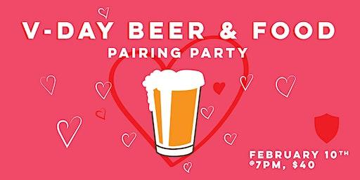 Food & Beer Pairing: V-Day!